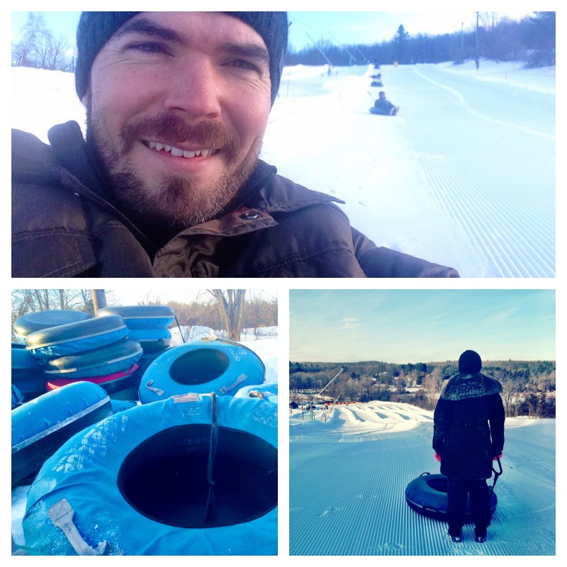 Snowtubing at Ski Ward in Massachusetts