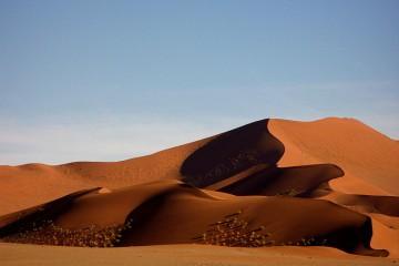 Sand Dune - Sossusvlei, Namibia