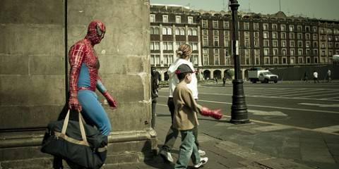 Spiderman's Late for Work, Mexico
