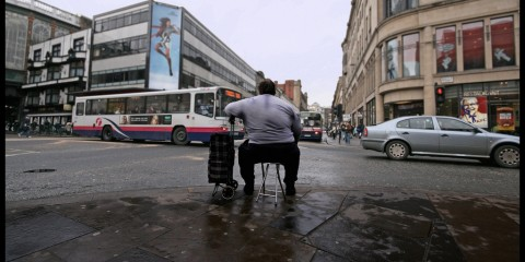 A Nice Spot for People Watching, Glasgow