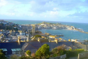 Waterfront and harbor St Ives, Cornwall
