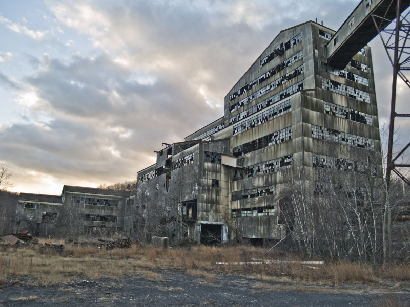 St Nicholas Coal Breaker, Pennsylvania (PA)