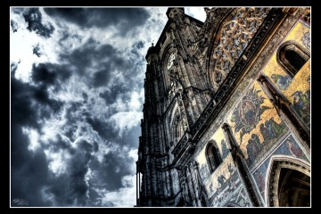 St. Vitus Cathedral from Prague Castle