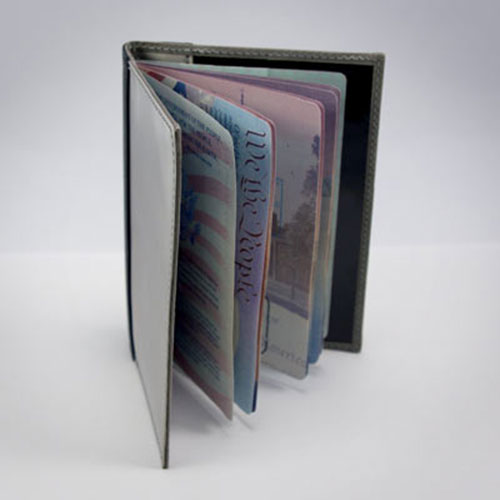 Stainless Steel RFID-Blocking Passport Sleeve