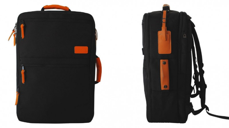 Standard Luggage Travel Backpack (exterior)