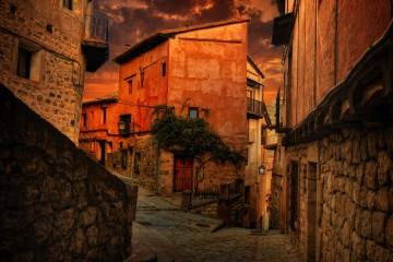 Streets of Albarracin, Spain