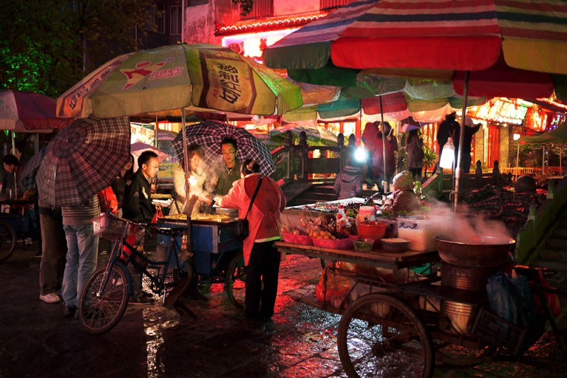Street Food in Yangsho, China