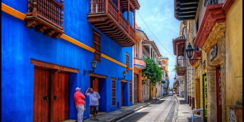 Street Life in Cartagena, Colombia