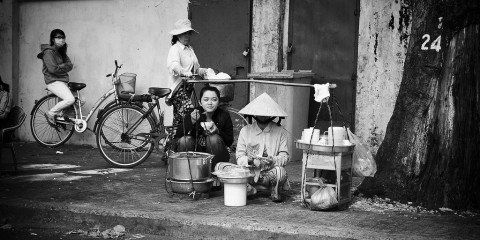 Street Life in Ho Chi Minh City, Vietnam