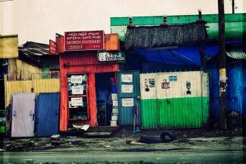 Streets of Addis Adaba, Ethiopia