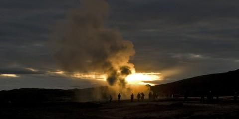 The Faithful Strokkur Geyser, Iceland