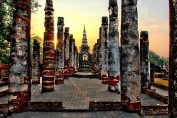Sukhothai Sunset, Thailand
