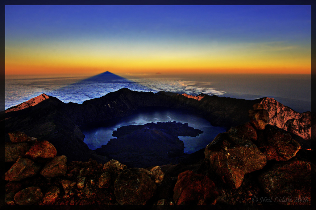 Summiting Mount Rinjani, Indonesia