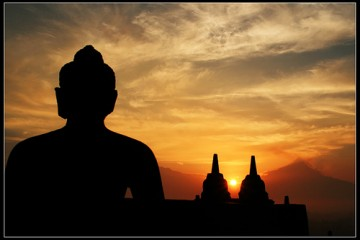 Borobudur Sunrise, Indonesia