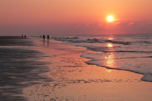 Sunrise on Forest Beach, Hilton Head Island, South Carolina