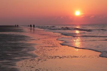 Sunrise on Forest Beach, Hilton Head Island, South Carolina