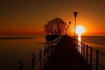 Sunrise at the Pier, Buenos Aires, Argentina