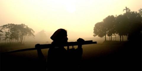 Sunrise Near Rangpur, Bangladesh