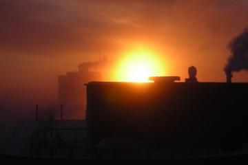Sunrise Over Yellowknife, Canada