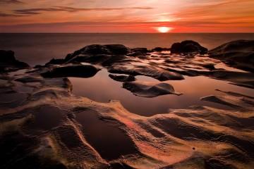 Sunset Over Cape Kiwanda, Oregon