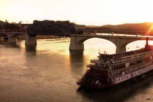 Sunset on the Tennessee River, Chattanooga