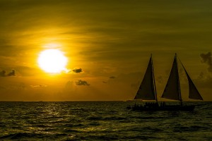 Sunset in Key West, Florida