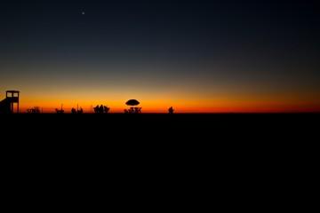 Sunset in Kenitra, Morocco