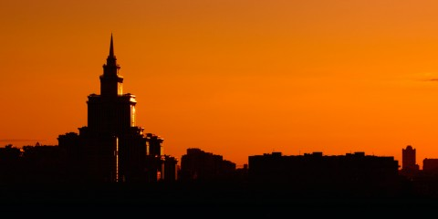 Sunset Silhouettes, Moscow
