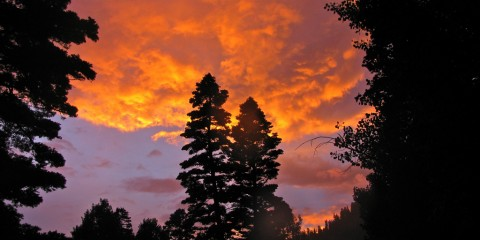 Sunset in Ouray, Colorado