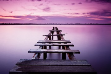 Sunset Pier, Queensland, Australia