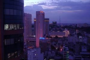 Sunset in Saigon