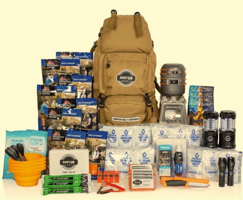 Sustain Supply Comfort4 Emergency Backpack
