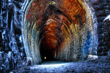 Swan Tunnel entrance in Perth, Australia