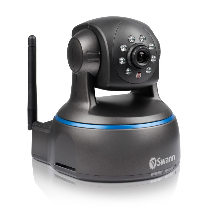 SwannEye HD Pan & Tilt Security Camera Keeps an Eye on Your Home ...
