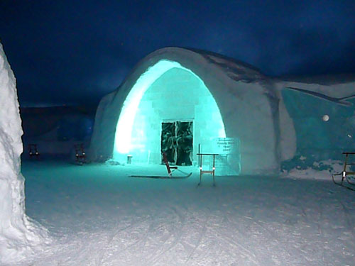 Afternoon at Sweden's Ice Hotel