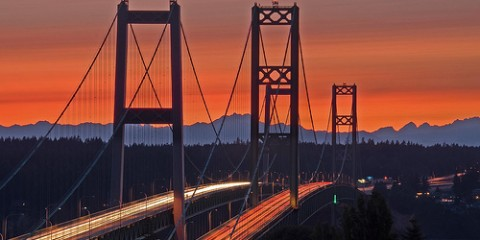 Tacoma Narrows Bridge, Washington