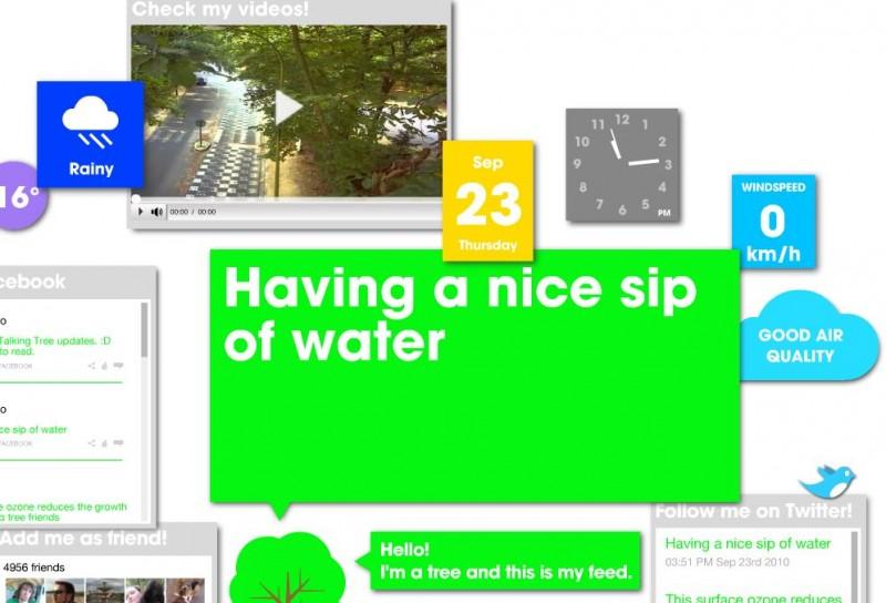 Talking-Tree.com (screenshot)