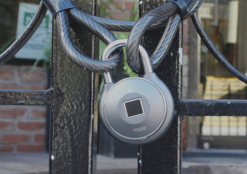 Tapplock one - Smart Fingerprint Padlock