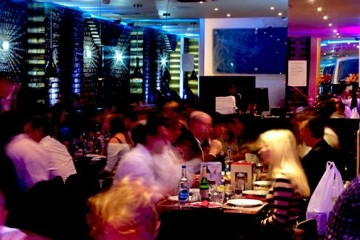 Interior of Tayyabs Restaurant, London