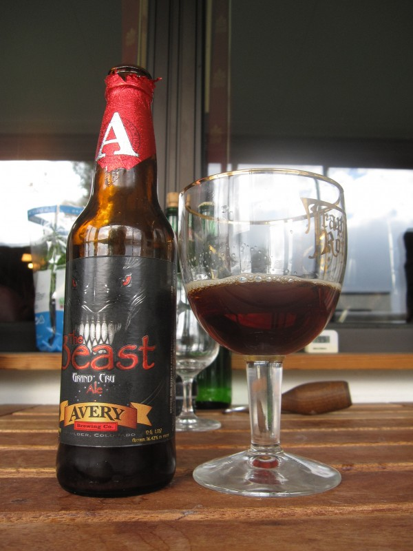 The Beast beer from Avery Brewing Company in Colorado