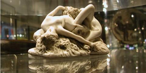 Sculpture at The Erotic Museum, Amsterdam