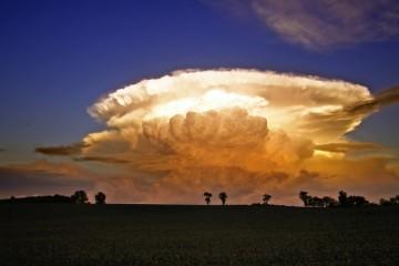 Thunderhead Cloud Over Bethel, Pennsylvania
