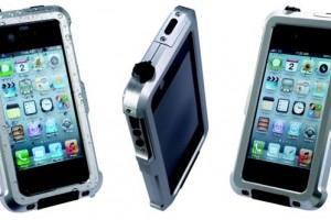 Tigra Sport Bravo Weatherproof iPhone Case (silver)