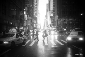 Vintage Feel of NYC Street, Timur Civan
