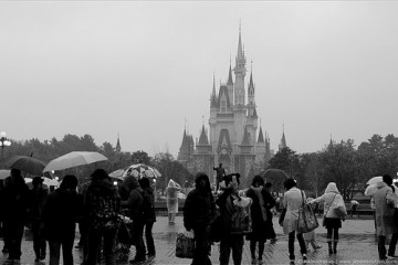 Rain or Shine at Disneyland, Tokyo