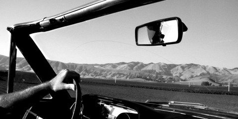 Top Down Cruising in San Luis Obispo, California