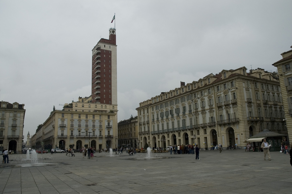 Torino: Piazza Castello e Ditone