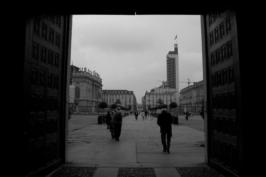 Torino: Vista dal Palazzo Reale