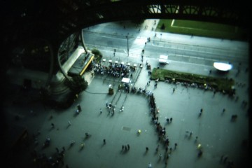 Tourist Ants at the Eiffel Tower, Paris