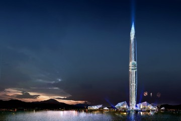 "The ""Invisible"" Tower Infinity, Seoul, South Korea (rendering)"
